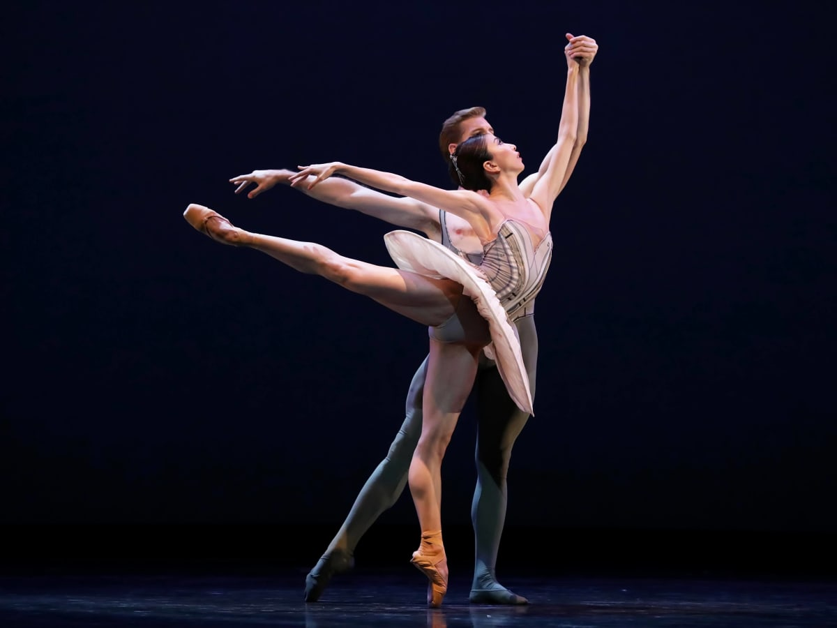 Houston Ballet, Son of Chamber Symphony, 9/16   Yuriko Kajiya and Christopher Coomer