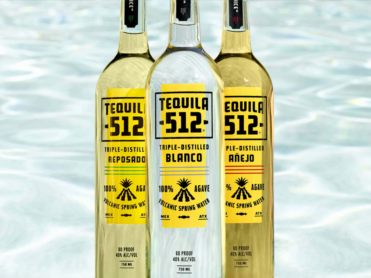 Tequila 512 new branding label