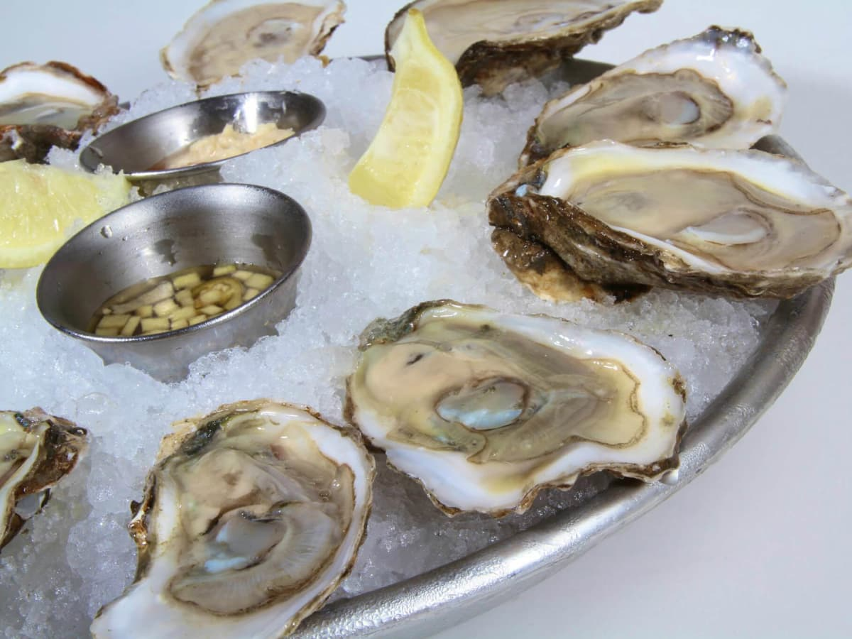 Cafe Blue restaurant Austin oysters