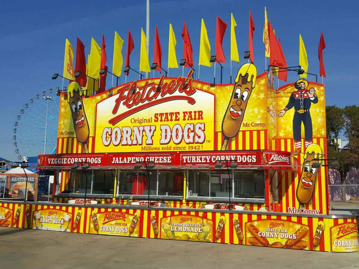 Fletcher's Corny Dog stand
