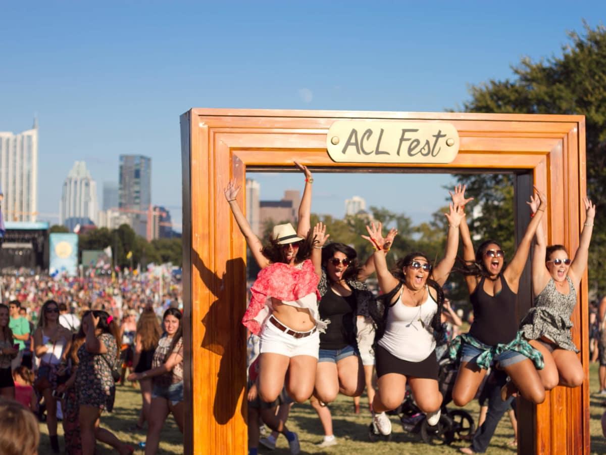 Austin City Limits Festival ACL 2014 Weekend One Day Three Shirin Ravandi Carly Stripling Ranjani Panda Neli Sabour Noura Moayyad