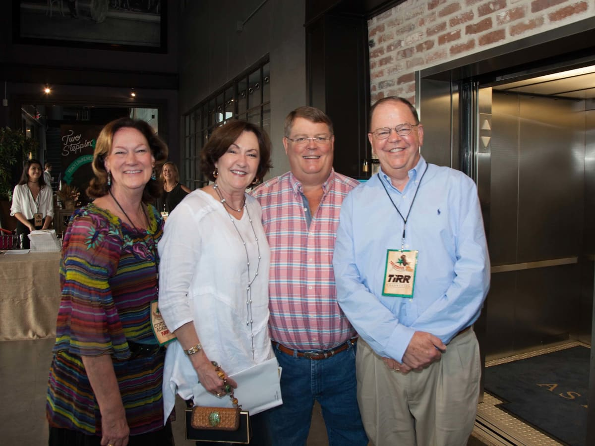 TIRR party, 9/16, Cynthia Adkins, Liz Rigney, Robert Rigney, John Adkins