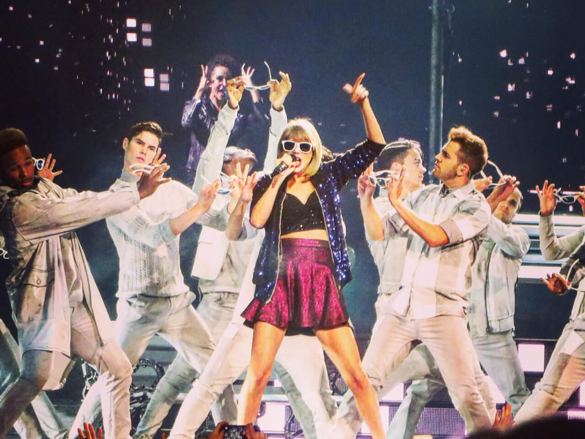 Taylor Swift Minute Maid Park Houston CROPPED