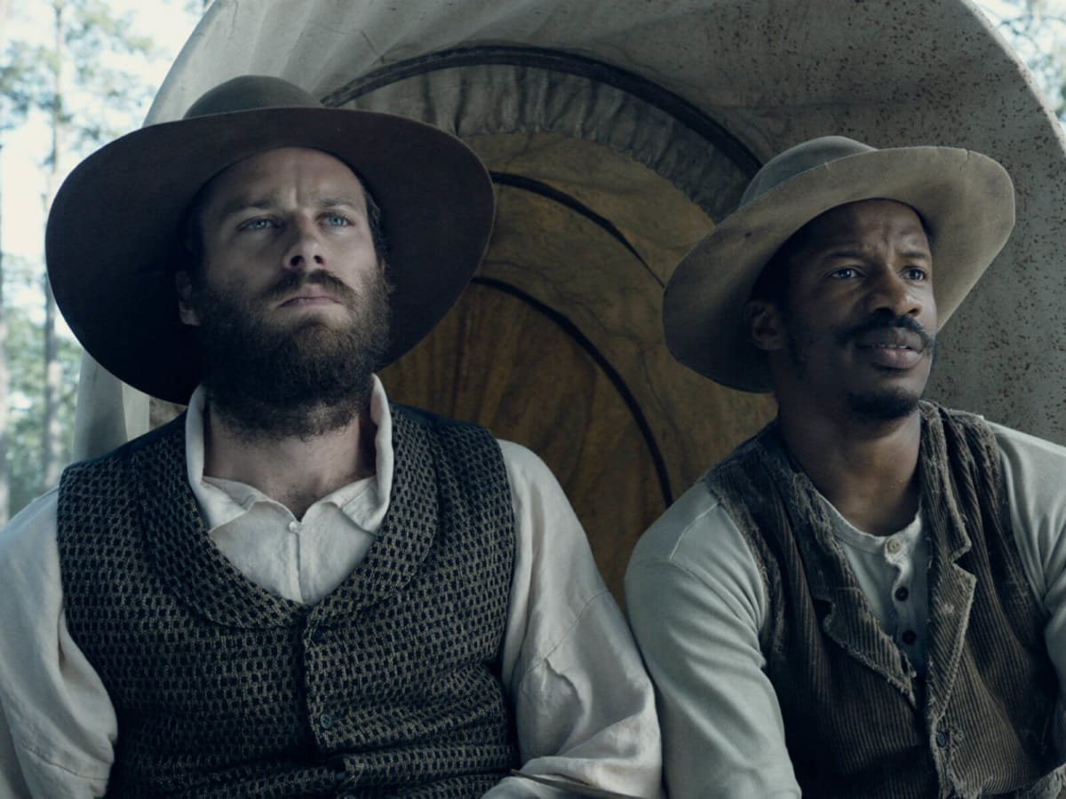 Armie Hammer and Nate Parker in The Birth of a Nation