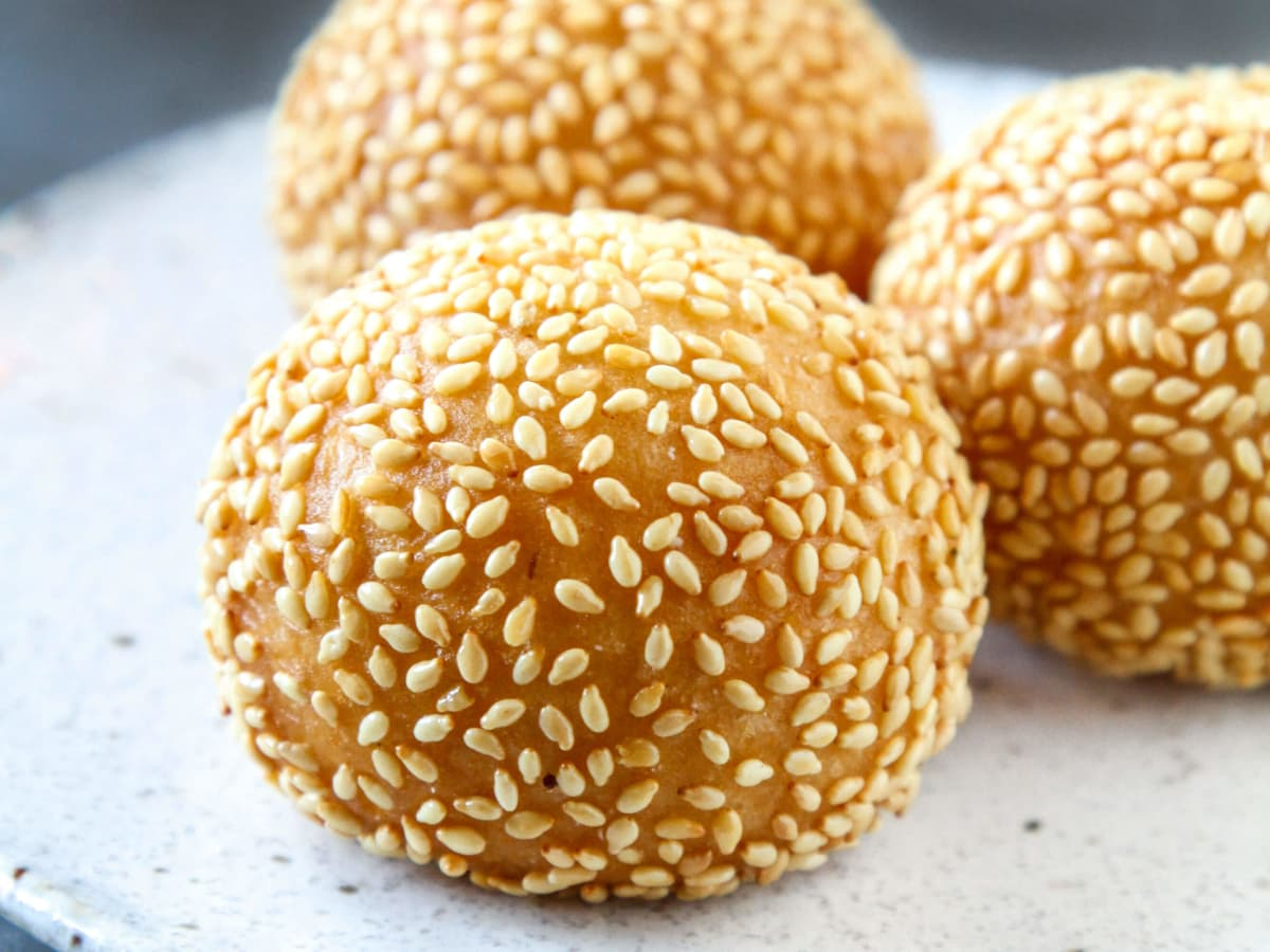 Old Thousand restaurant sesame balls