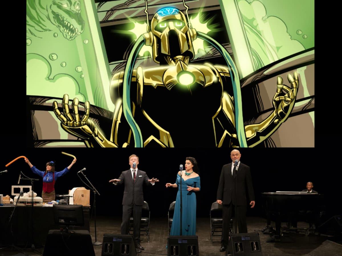 Robot Planet Rising: An Intergalactic Nemesis Live-Action Graphic Novel