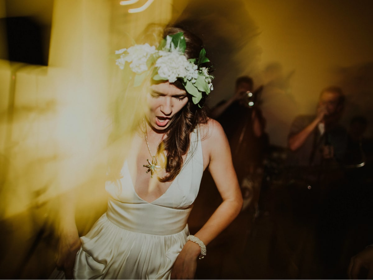 Hill Country wedding prospect house bride
