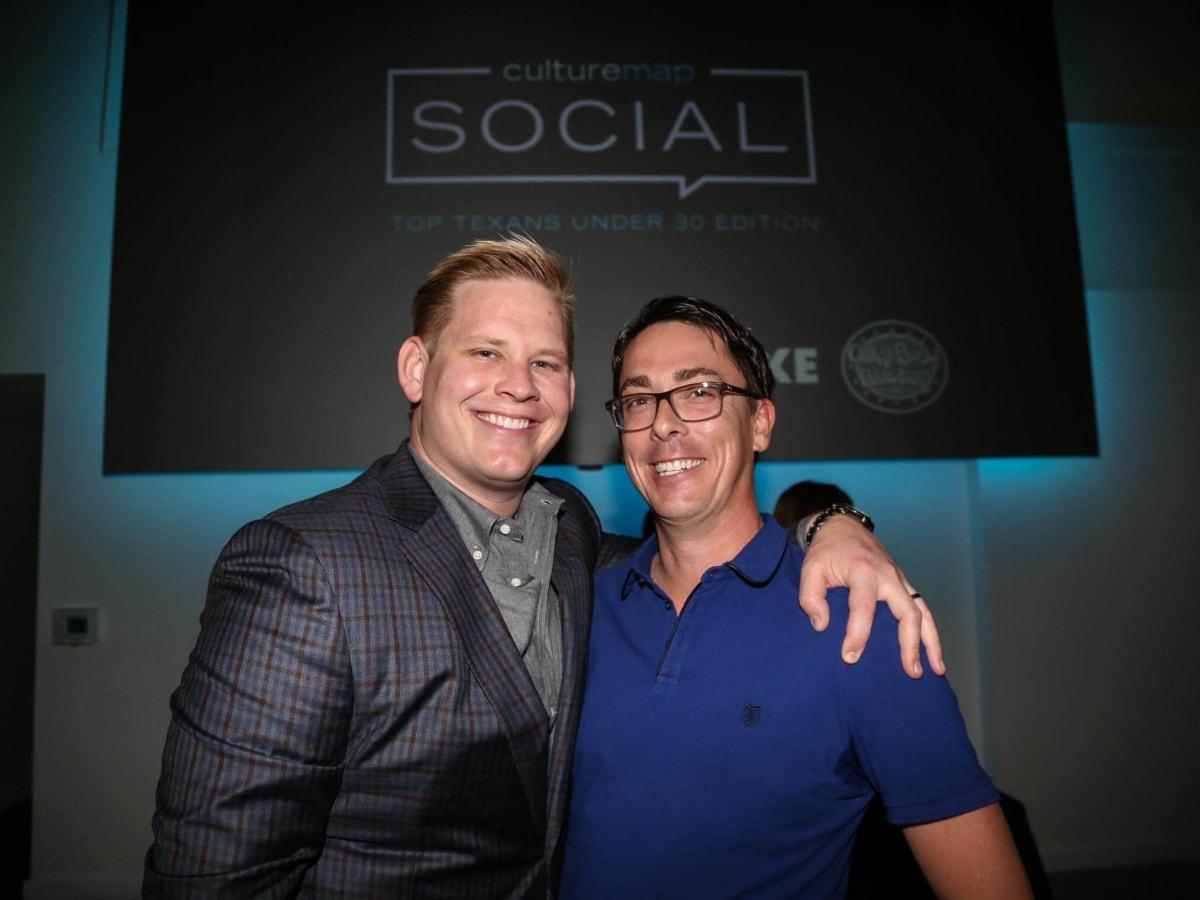 CultureMap Social Top Texans Under 30 Adam Jacoby Chris Swift