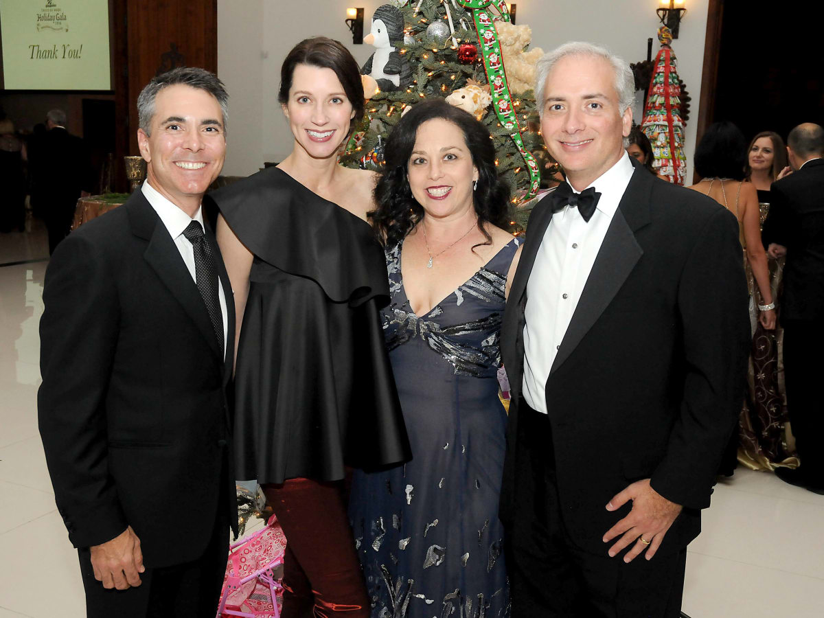 Houston, Trees of Hope gala, Nov. 2016, Steve Jones, Laura Jones, Viviana Denechaud, David Denechaud