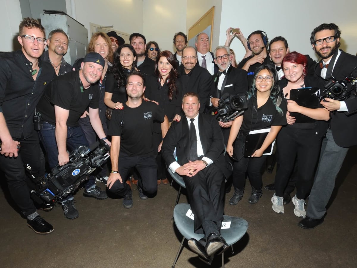 Tilman Feritta with Billion Dollar Buyer crew at Houston Children's Charity Gala