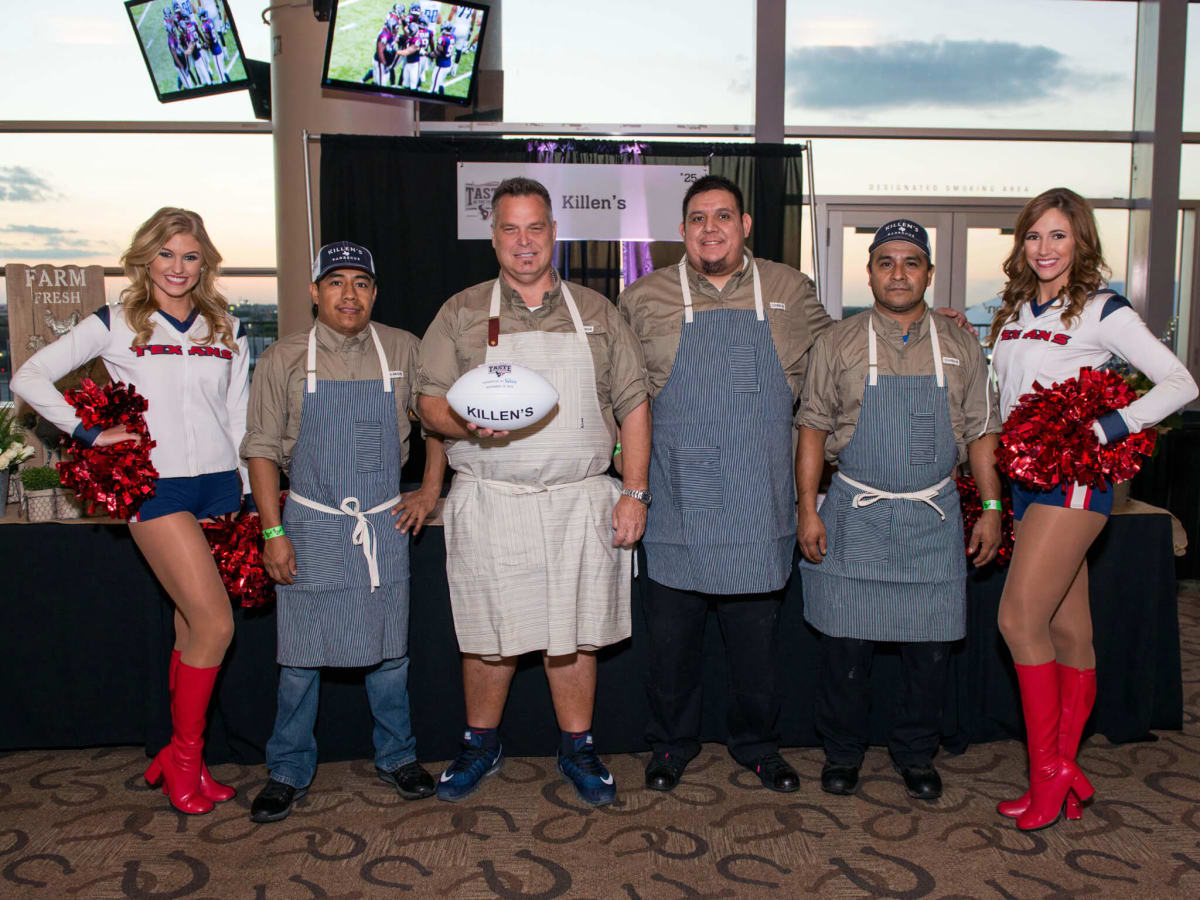 Taste of the Texans Ronnie Killen Teddy Lopez