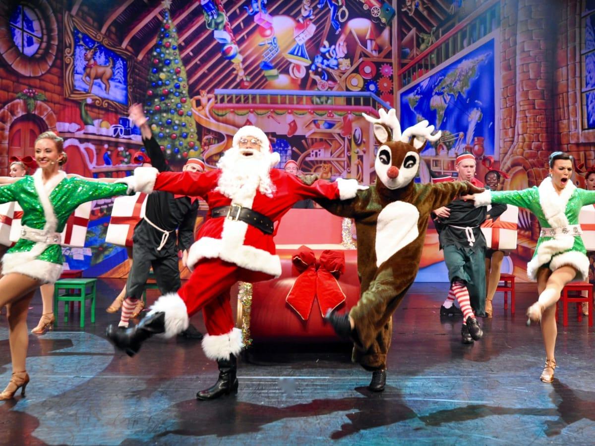 Cast of Broadway Christmas Wonderland