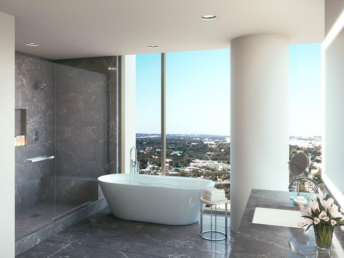 Windrose Tower bathroom
