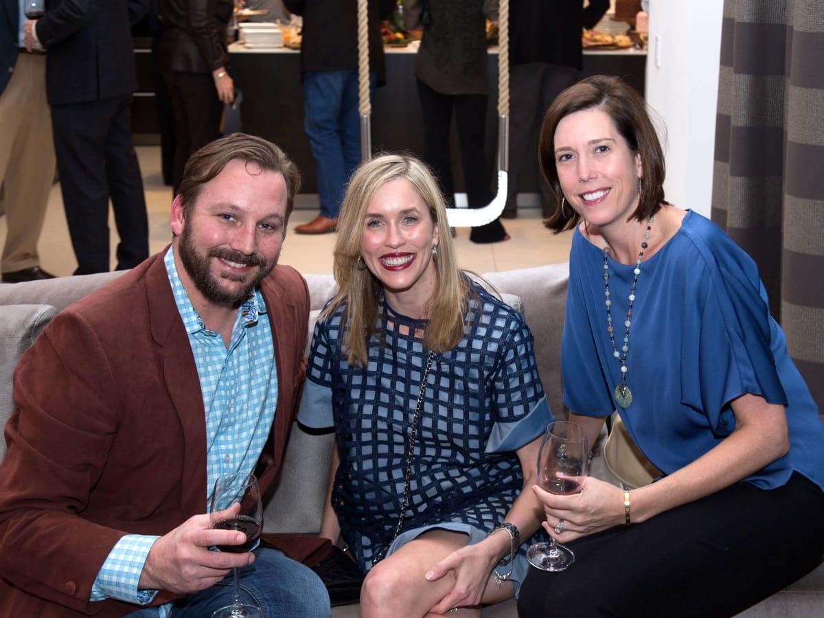 Houston,National MS Society On the Move Luncheon, Jan 2017, Christian Bedortha, Wendy Bedortha, Joslyn Paris
