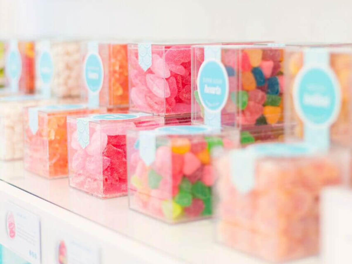 Sugarfina, candy, gummy bears