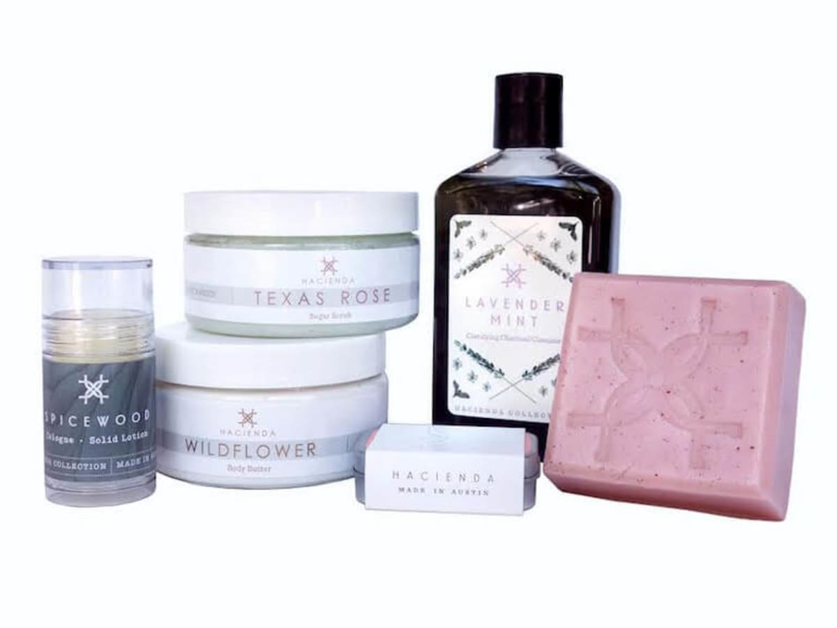 Hacienda body care collection