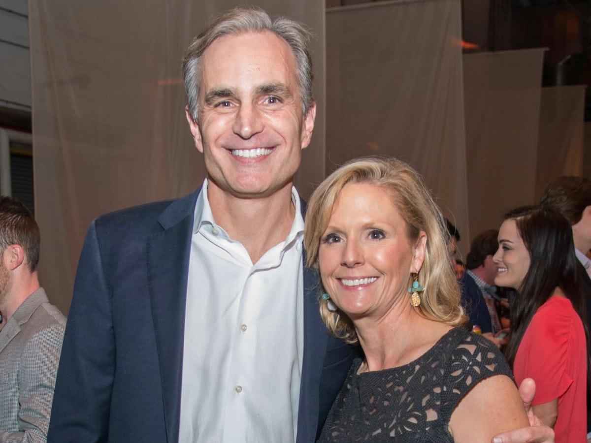 David Gow, Audrey Gow at Big Texas Party, horizontal photo