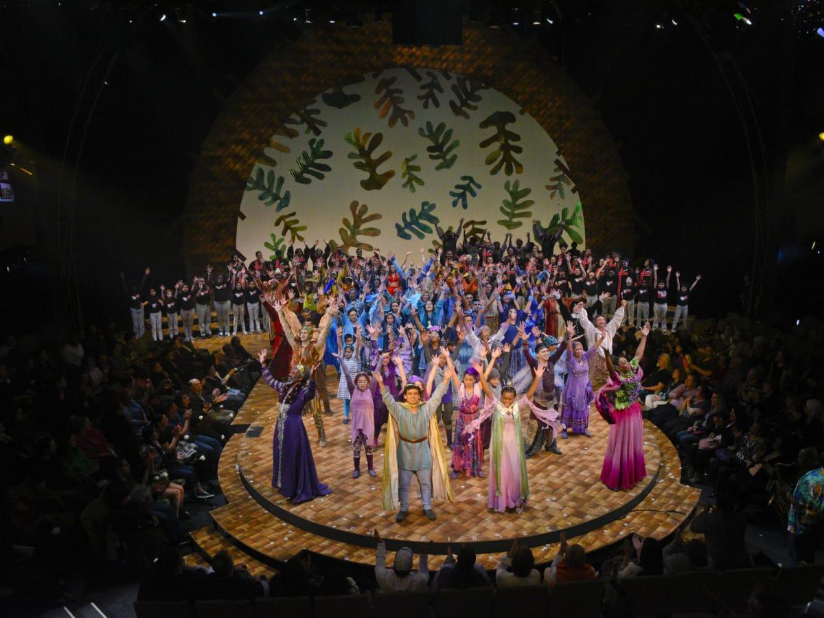 Cast of Dallas Theater Center's The Tempest