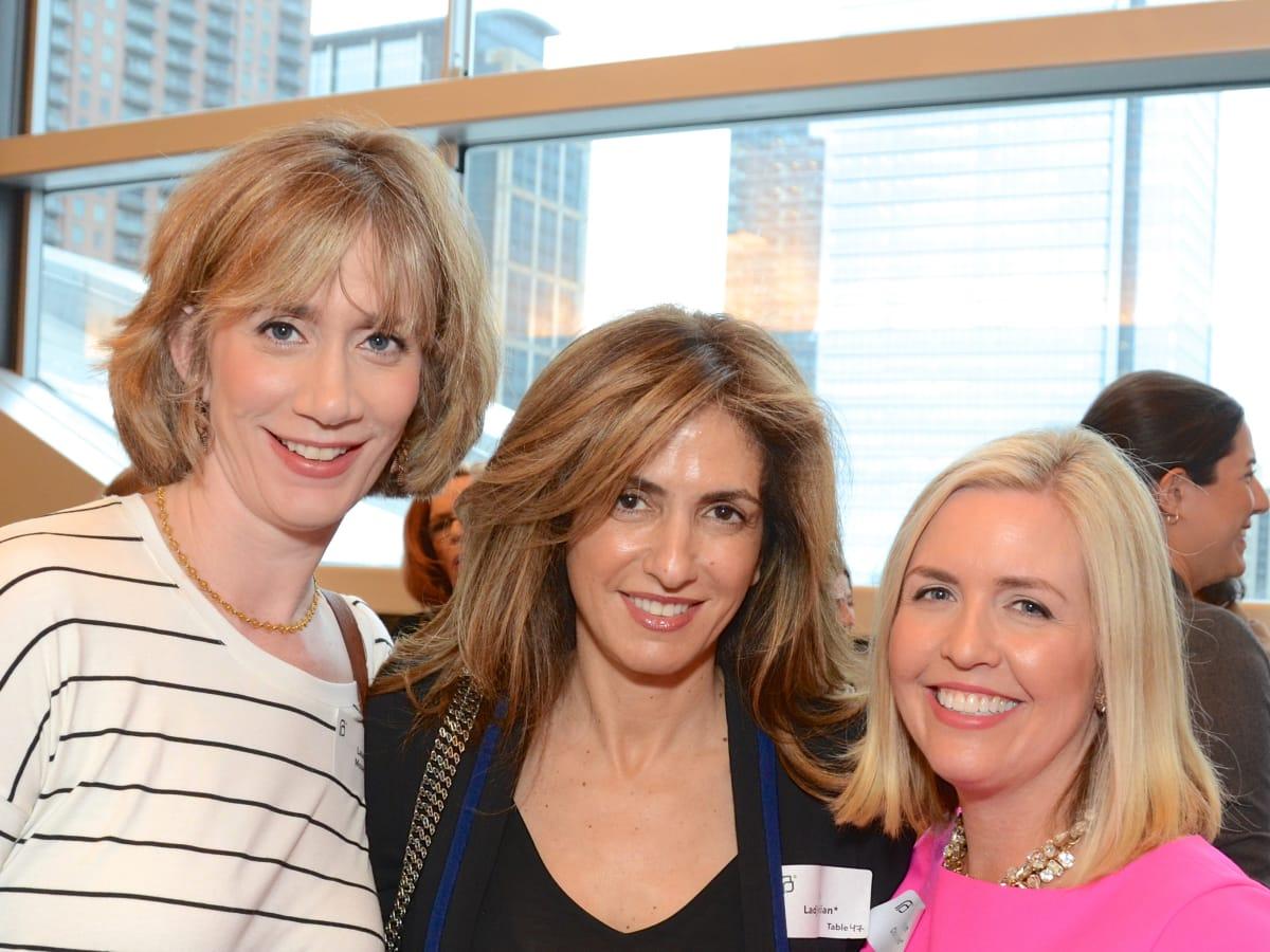Planned Parenthood luncheon, Laura Moser, Sima Ladjevardian, Kristen Olson Lyons