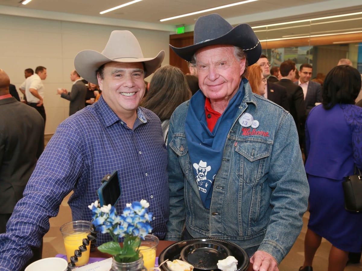 Bob Borochoff, Welcome Wilson at Mayor's Rodeo kickoff breakfast