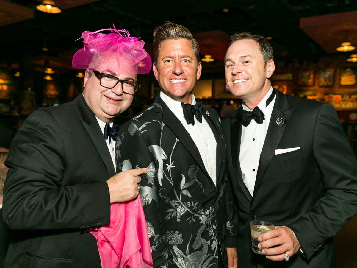 Ciro Flores, Brian Teichman and Andrew Cordes at Diana Awards