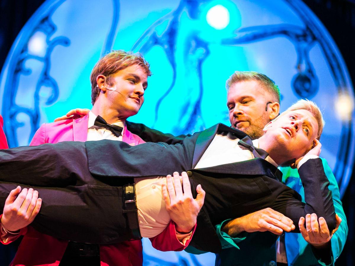 Houston entertainers at Diana Awards