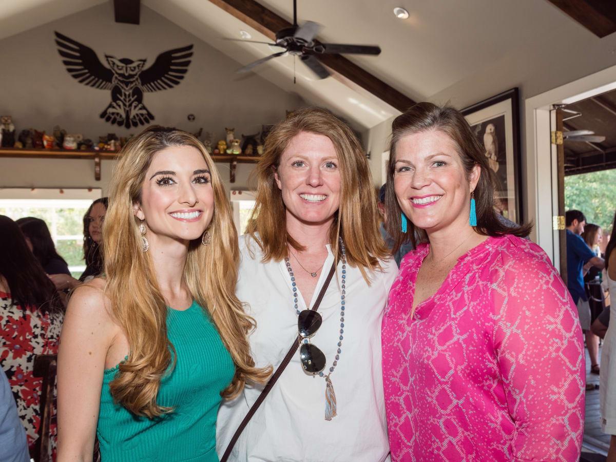 Lauren_Granello, Susan_Oehl, Lauren_Levicki_Courville at Women of Wardrobe spring fling 2017