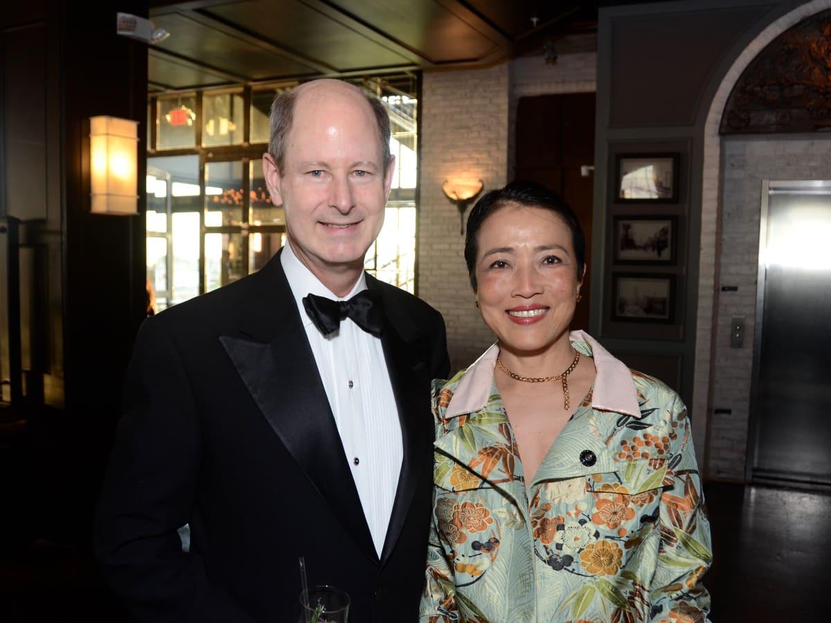 Eddie Allen, Chinhui Allen at 2017 Da Camera Gala