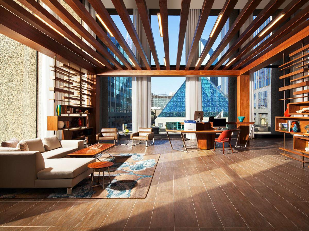 The Westin Dallas lobby