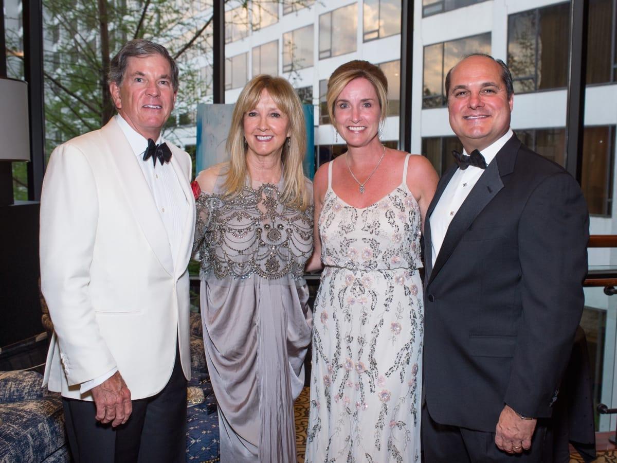 John and Mary Eads, Lisa and John Sarvadi at Covenant House Gala 2017