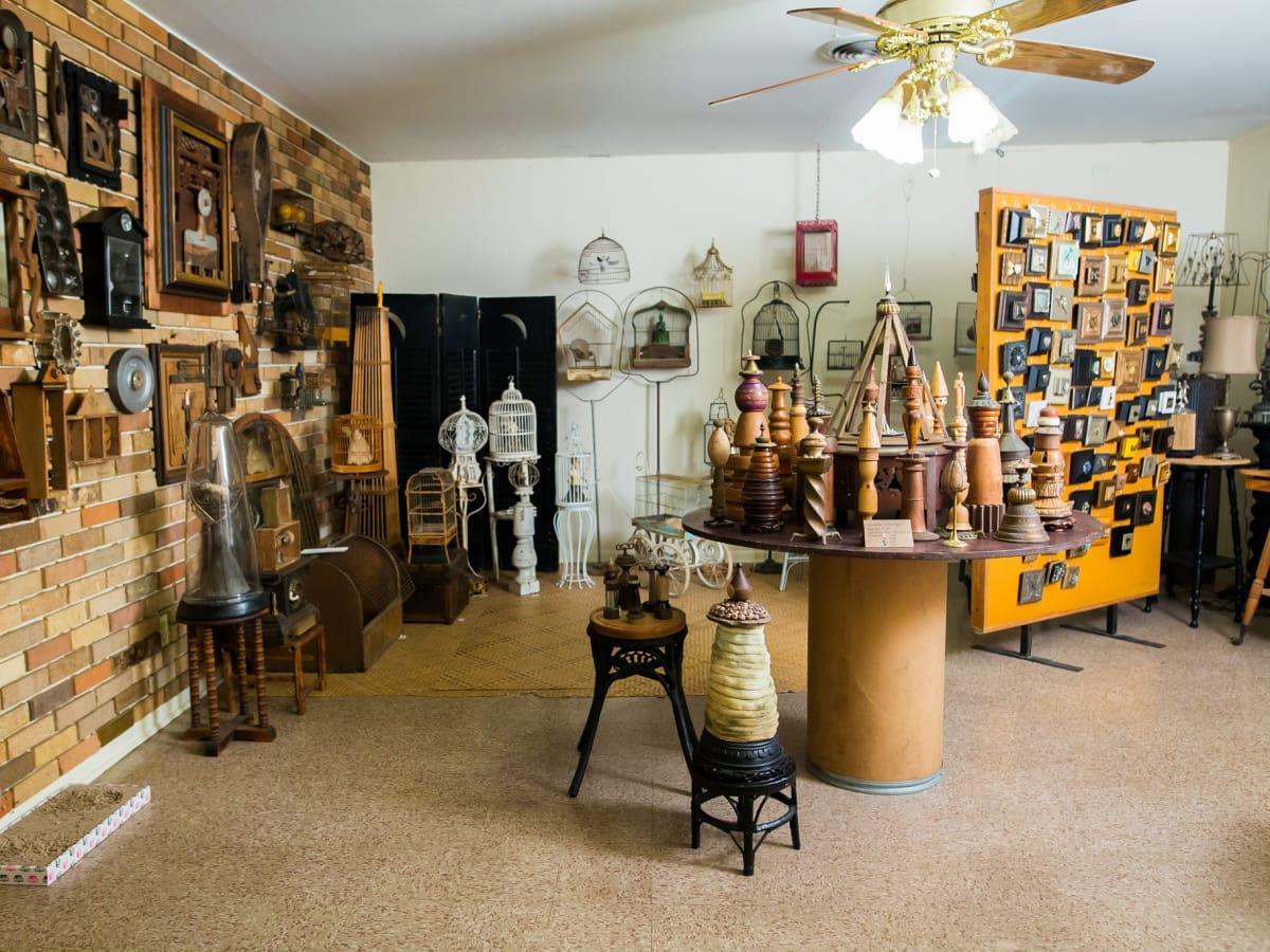 Austin Weird Homes Tour 2017 Barbara's Bird Cage