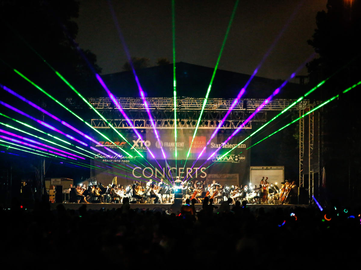 Fort Worth Symphony Orchestra Concerts in the Garden: A Laser Light Spectacular
