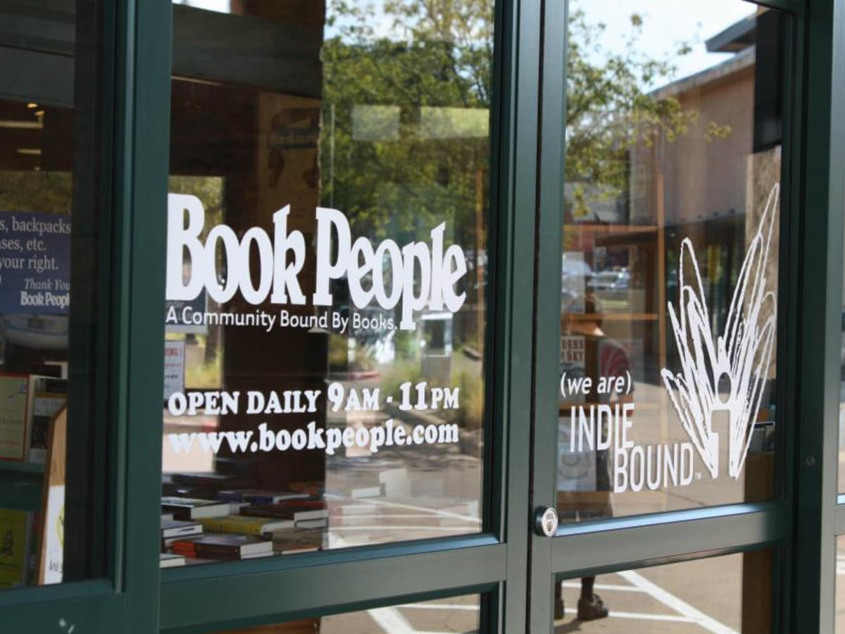 BookPeople doors