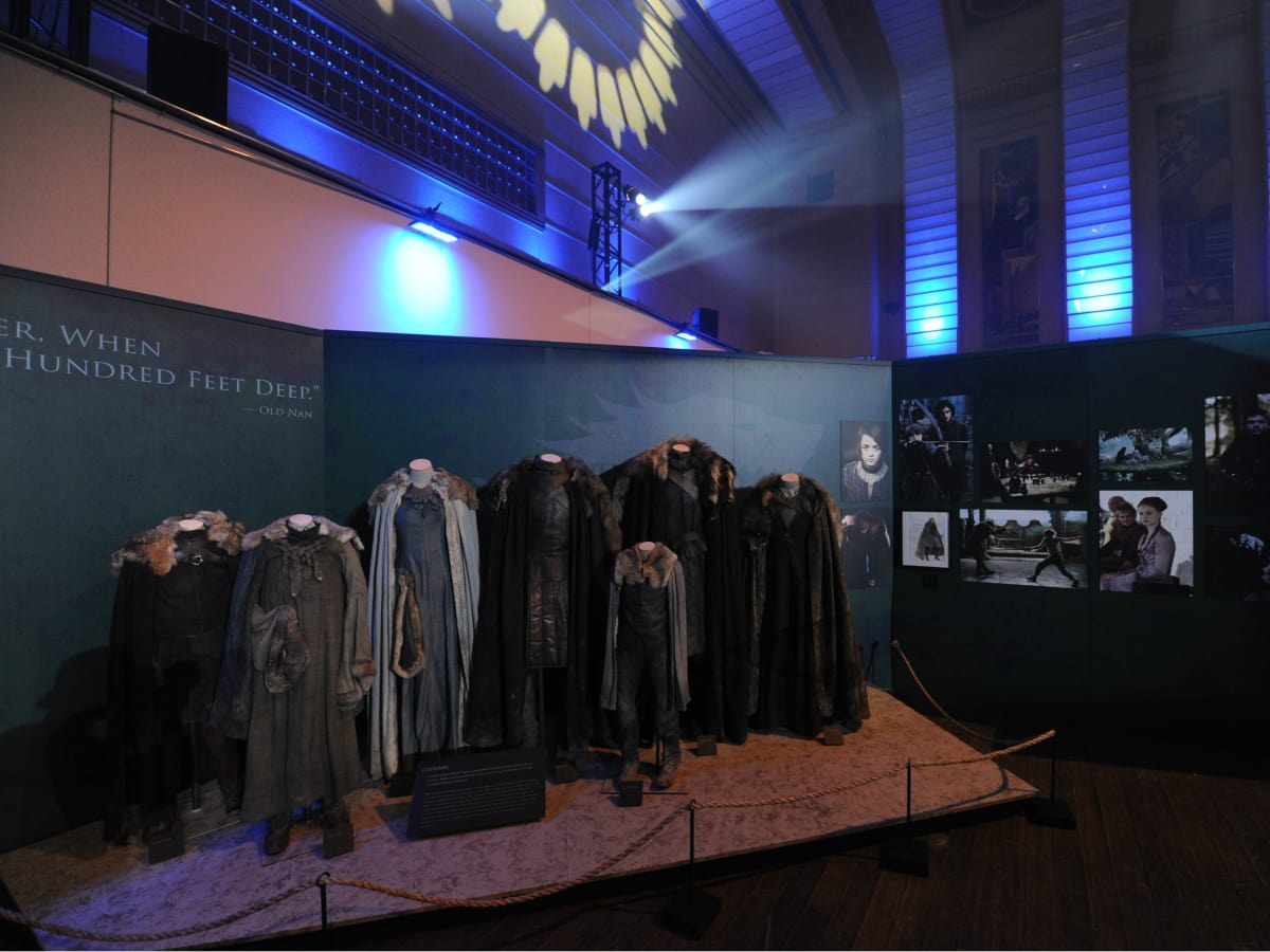 Game of Thrones the Exhibition displays
