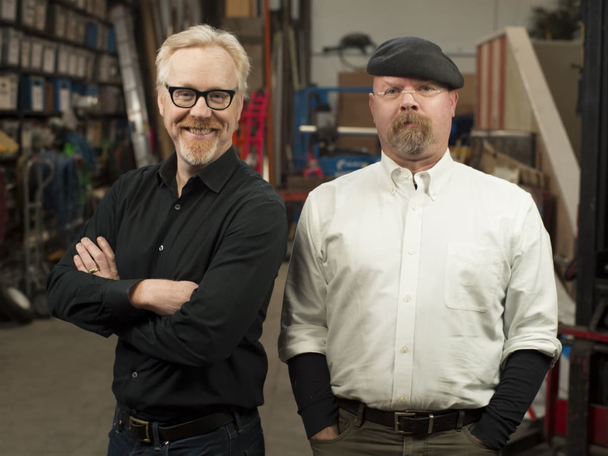 Adam Savage and Jamie Hyneman from Mythbusters