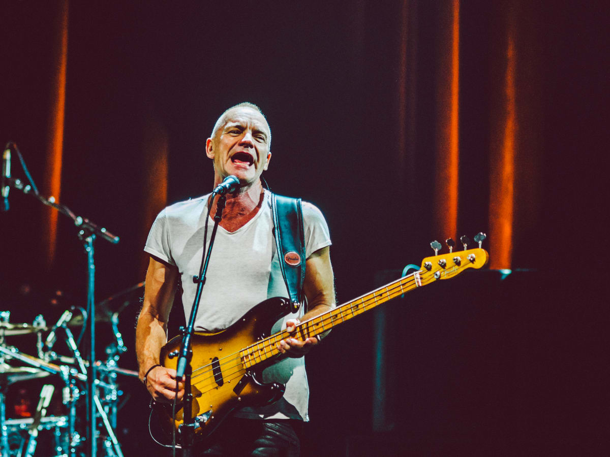 Sting at ACL Live in Austin 8
