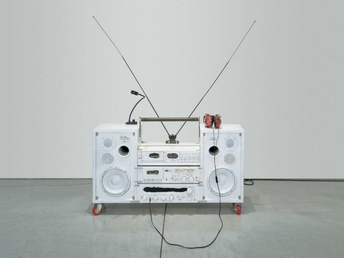 Model One_1999_Boombox Retrospective 1999–2015_Tom Sachs_The Contemporary Austin_2015