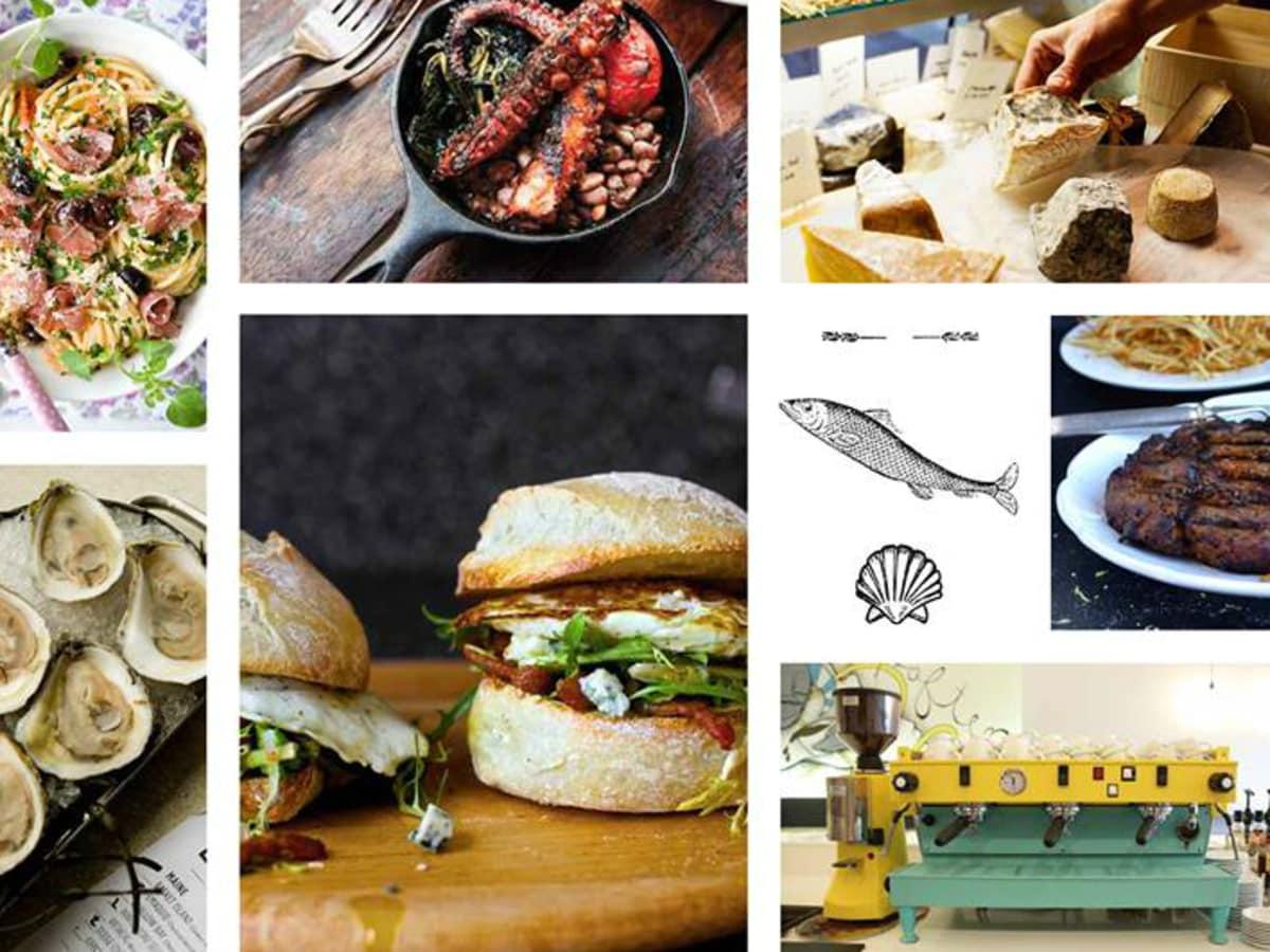Launderette Austin food collage 2015
