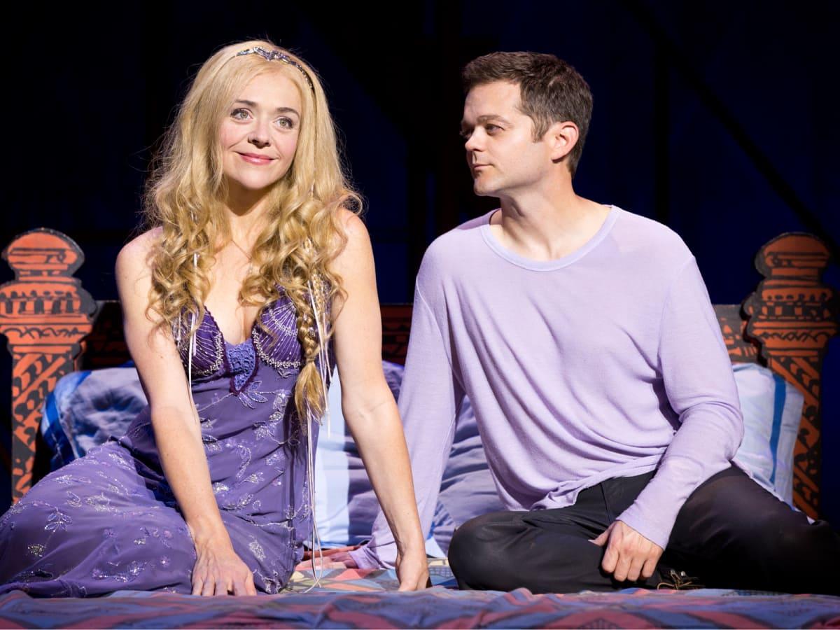 Broadway at the Hobby Center January 2015 Rachel Bay Jones as Catherine & Josh Kaufman as Pippin