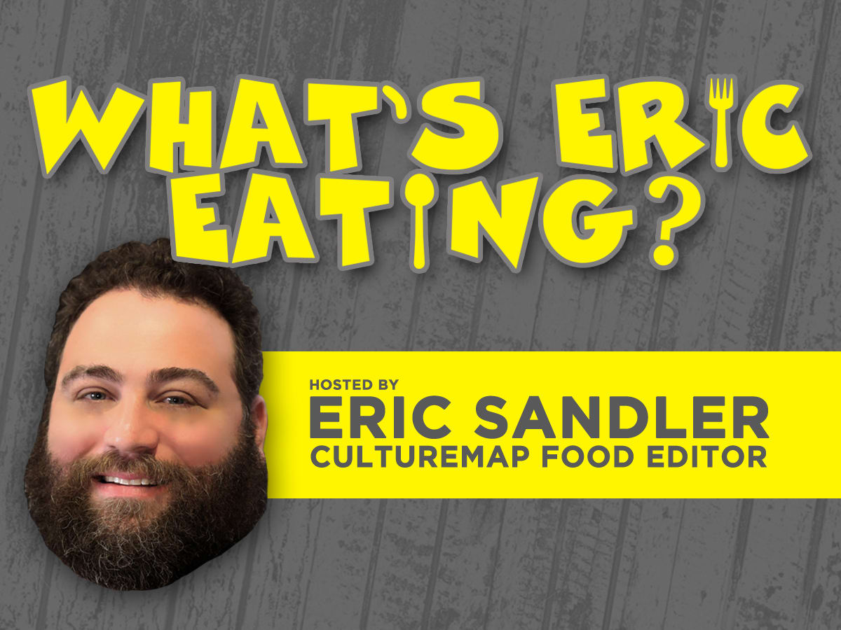 What's Eric Eating podcast graphic