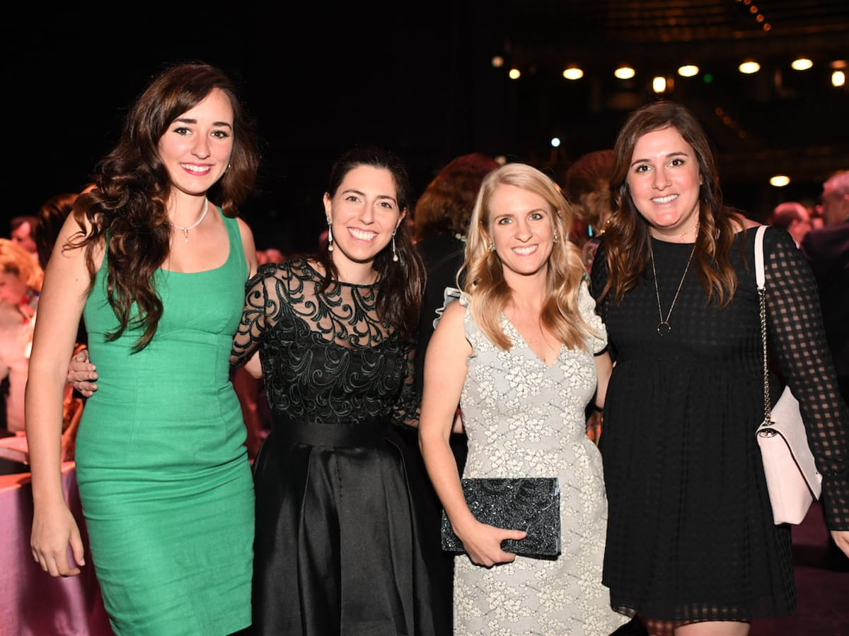 Houston, Casa de Esperanza Building Hope for Children Gala, April 2017, Jordan Chismar, Rachel Alaniz, Emily Conner, Anna Dattilo