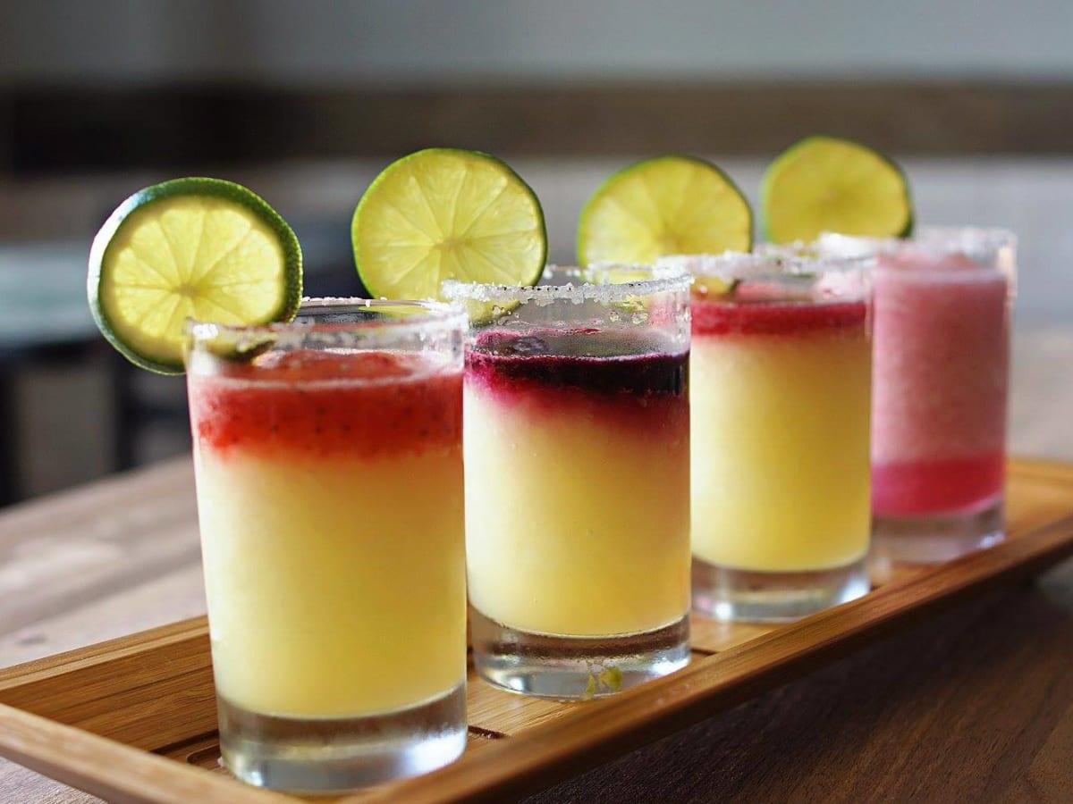 Margaritas at Sangria on the Burg