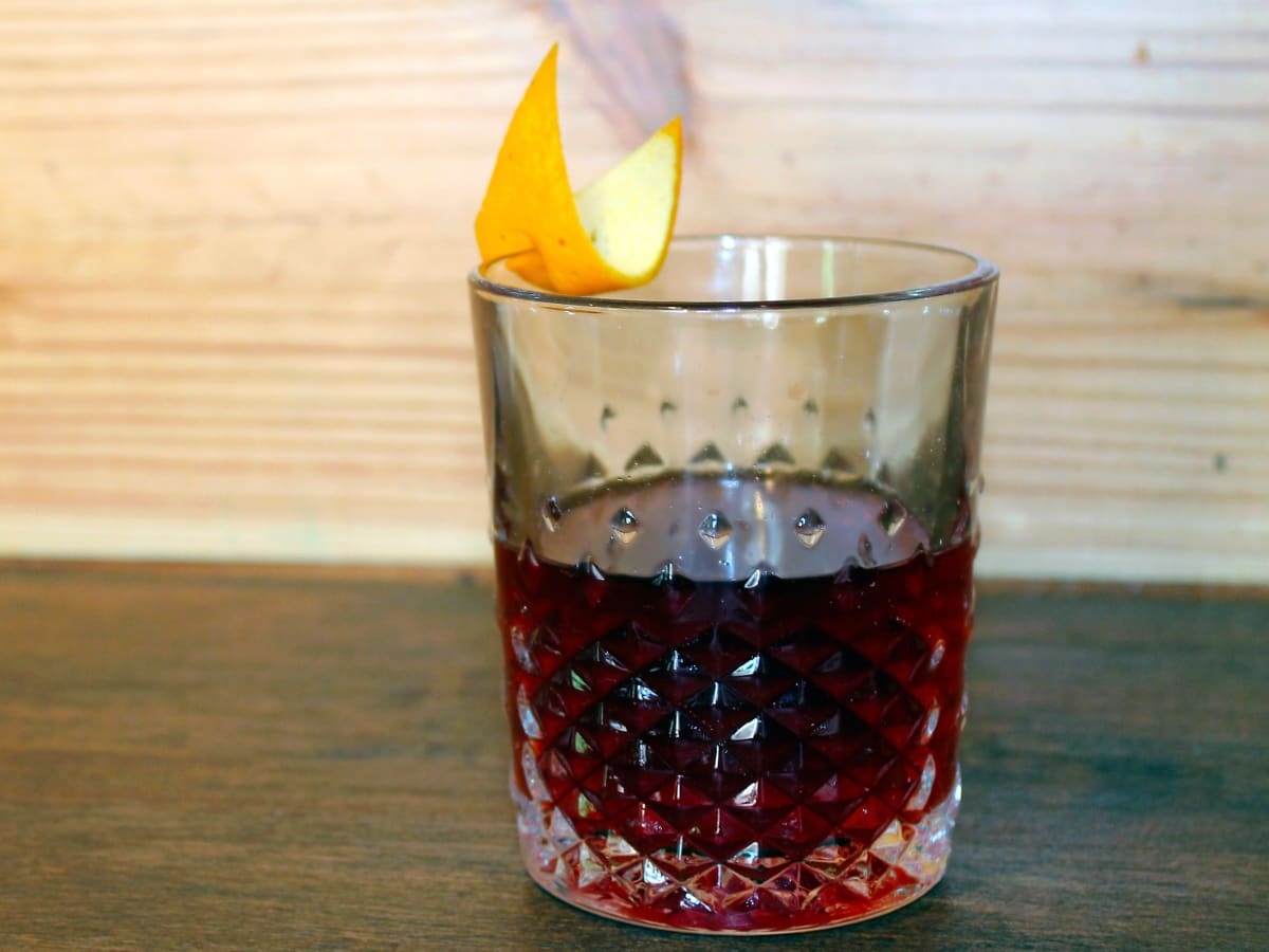 Houston, Star Wars-Inspired cocktails, May 2017, Obi Wan Negroni at Nobie's