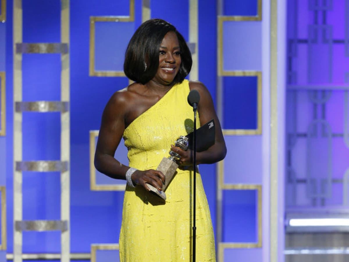 Viola Davis Golden Globes 2017 Landscape