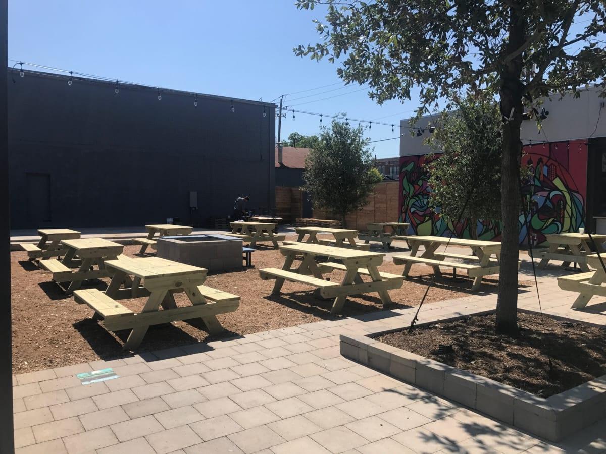 FM Kitchen & Bar patio