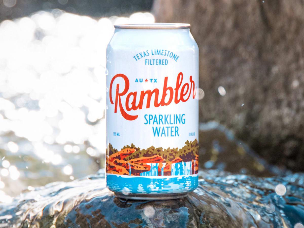 Rambler sparkling water can