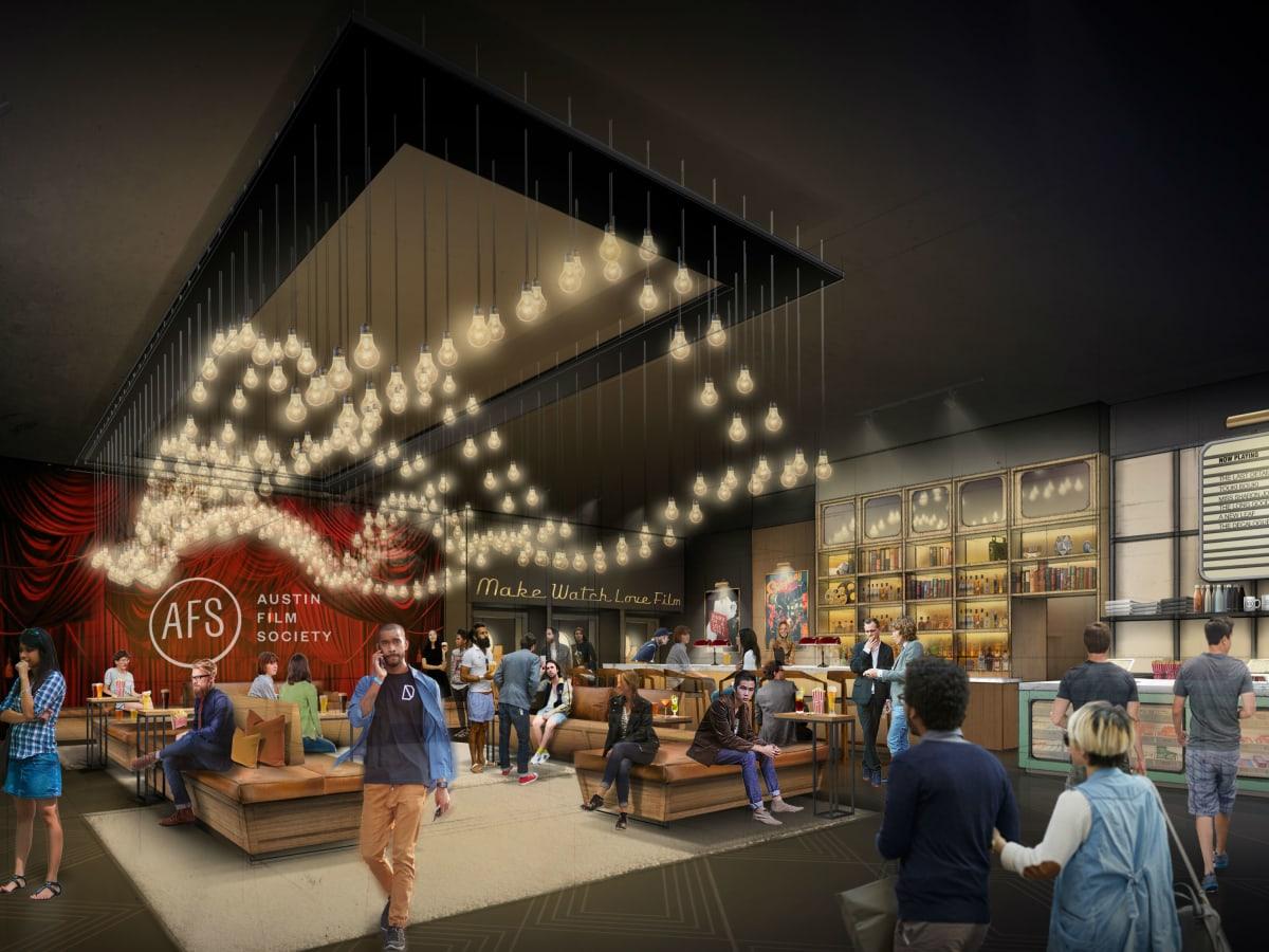 Austin Film Society AFS Cinema rendering