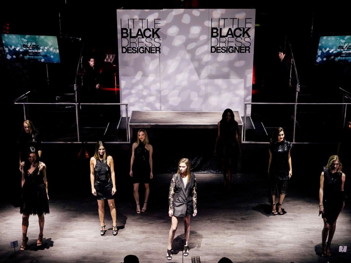 Little Black Dress Designer Competition 2017