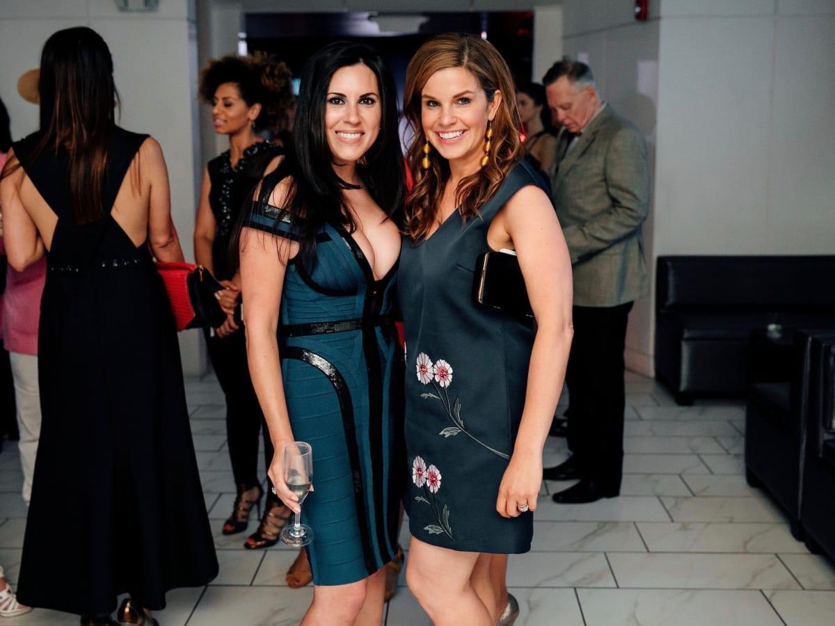Lauren Geiser, Molly Stone at Little Black Dress Designer 2017