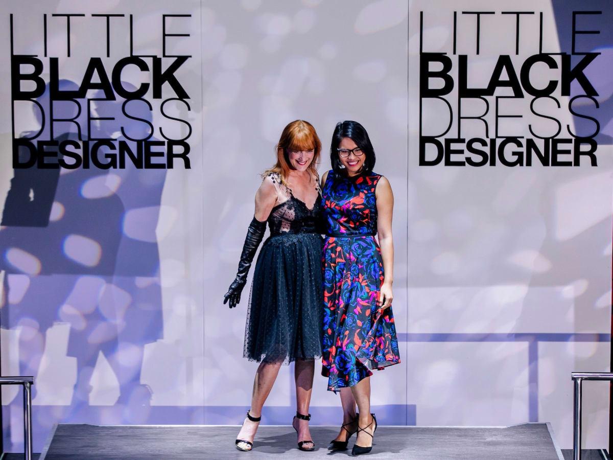 Gracie Cavnar, Kim Nguyen at Little Black Dress Designer 2017